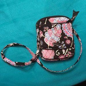 Vera Bradley crossbody bag. Used 1 time.